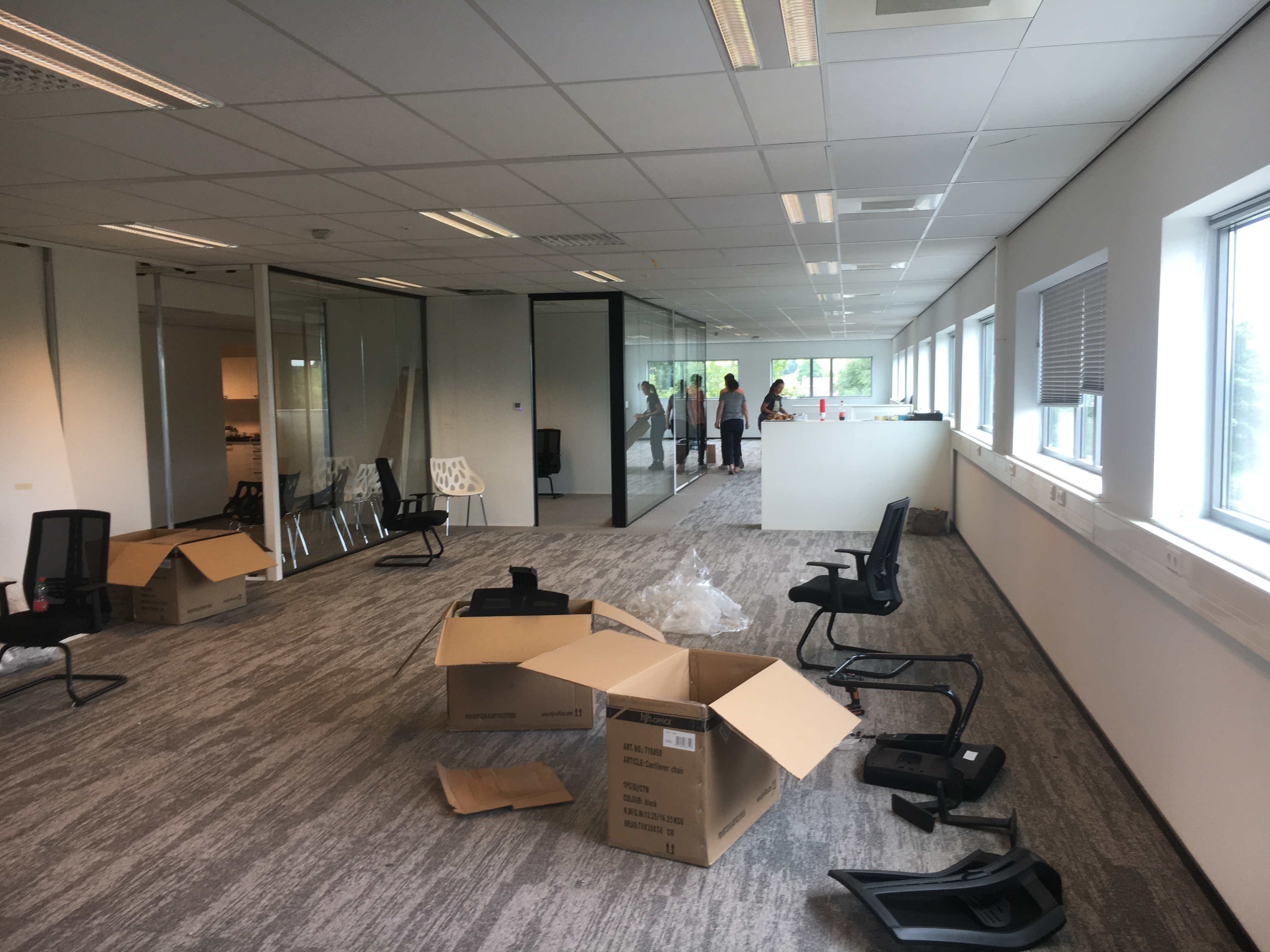 Hello New Office Bye Old